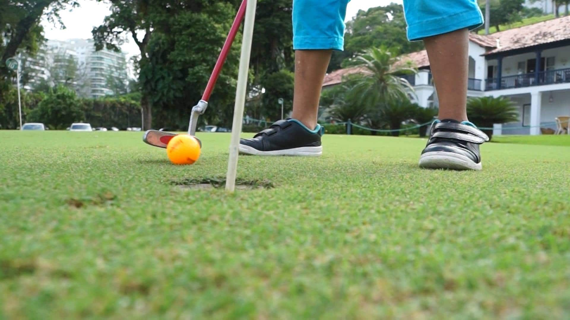 Golfe no Gávea Country Club com a Terr'Ativa